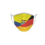 Gesichtsmaske Behelfsmaske Mundschutz Ecuador-Deutschland
