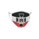 Gesichtsmaske Behelfsmaske Mundschutz Eisernes Kreuz mit Adler