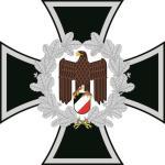 Aufkleber Eisernes Kreuz mit Adler