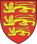 Aufkleber England Wappen