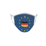 Gesichtsmaske Behelfsmaske Mundschutz Europa mit BRD L