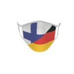 Gesichtsmaske Behelfsmaske Mundschutz Finnland-Deutschland