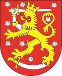 Aufkleber Finnland Wappen