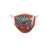 Gesichtsmaske Behelfsmaske Mundschutz Formel 1 rot