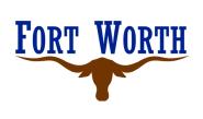 Aufkleber Fort Worth