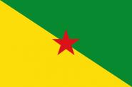 Aufkleber Französisch Guyana