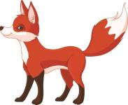 Aufkleber Fuchs