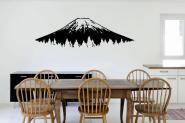 Wandtattoo Fujiyama XXXL | schwarz