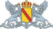 Aufkleber Großherzogtung Baden Wappen