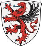 Aufkleber Gießen Wappen