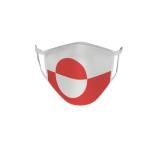 Gesichtsmaske Behelfsmaske Mundschutz Grönland