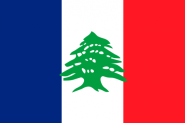 Flagge Groß Libanon