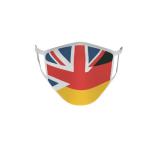 Gesichtsmaske Behelfsmaske Mundschutz Grossbritannien-Deutschland