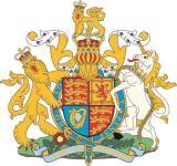 Aufkleber Grossbritannien Wappen