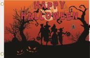 Fahne Halloween Motiv Nr. 3 90 x 150 cm