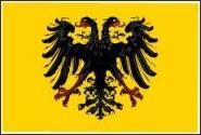 Fahne Heiliges Römisches Reich Deutscher Nation ab 1401 90 x 150 cm
