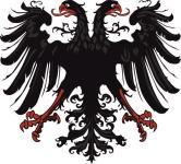 Aufkleber Adler des Heiligen Römischen Reiches Deutscher Nation