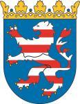 Aufkleber Hessen Wappen
