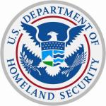 Aufkleber Homeland Security Siegel Seal