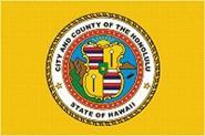Flagge Honolulu