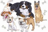 Flagge Hunde