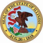Aufkleber Illinois Siegel Seal