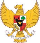 Aufkleber Indonesien Wappen