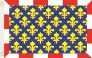 Fahne Indre et Loire Department 90 x 150 cm