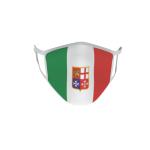Gesichtsmaske Behelfsmaske Mundschutz Italien mit Wappen