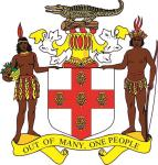 Aufkleber Jamaika Wappen