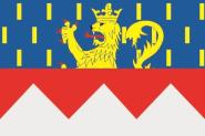 Flagge Jura Department