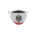 Gesichtsmaske Behelfsmaske Mundschutz Kaiserreich mit Adler L