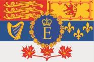 Aufkleber Kanada Royal