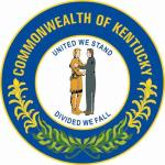 Aufkleber Kentucky Siegel Seal