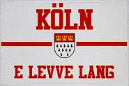 Aufnäher Köln e leve lang Patch 9 x 6 cm