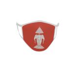 Gesichtsmaske Behelfsmaske Mundschutz Königreich Laos