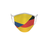 Gesichtsmaske Behelfsmaske Mundschutz Kolumbien-Deutschland