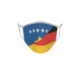 Gesichtsmaske Behelfsmaske Mundschutz Kosovo-Deutschland