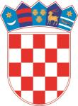 Aufkleber Kroatien Wappen