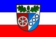 Flagge Landkreis Aschaffenburg