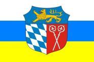 Flagge Landkreis Bad Tölz