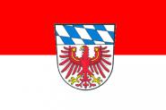 Flagge Landkreis Bayreuth