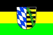 Flagge Landkreis Coburg