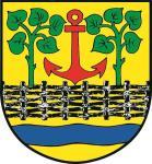 Aufkleber Leck Nordfriesland Wappen