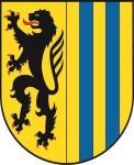 Aufkleber Leipzig Wappen