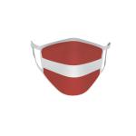 Gesichtsmaske Behelfsmaske Mundschutz Lettland