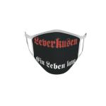 Gesichtsmaske Behelfsmaske Mundschutz Leverkusen ein Leben lang