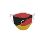 Gesichtsmaske Behelfsmaske Mundschutz Libyen-Deutschland