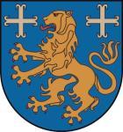 Aufkleber Landkreis Friesland Wappen