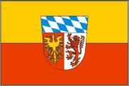 Flagge Landkreis Landsberg